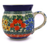 12 oz Stoneware Bubble Mug - Polmedia Polish Pottery H1557B