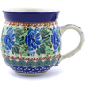 12 oz Stoneware Bubble Mug - Polmedia Polish Pottery H1676B
