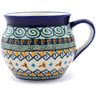 12 oz Stoneware Bubble Mug - Polmedia Polish Pottery H1858C