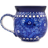 12 oz Stoneware Bubble Mug - Polmedia Polish Pottery H1942D