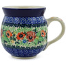 12 oz Stoneware Bubble Mug - Polmedia Polish Pottery H2161K