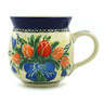 12 oz Stoneware Bubble Mug - Polmedia Polish Pottery H2279H