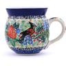 12 oz Stoneware Bubble Mug - Polmedia Polish Pottery H2383G
