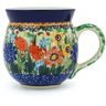 12 oz Stoneware Bubble Mug - Polmedia Polish Pottery H2384G