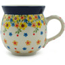 12 oz Stoneware Bubble Mug - Polmedia Polish Pottery H2881I