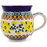 12 oz Stoneware Bubble Mug - Polmedia Polish Pottery H3184A