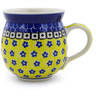 12 oz Stoneware Bubble Mug - Polmedia Polish Pottery H3211A