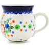 12 oz Stoneware Bubble Mug - Polmedia Polish Pottery H3816J