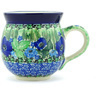 12 oz Stoneware Bubble Mug - Polmedia Polish Pottery H4174G