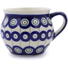 12 oz Stoneware Bubble Mug - Polmedia Polish Pottery H4882C
