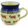 12 oz Stoneware Bubble Mug - Polmedia Polish Pottery H4982D