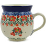 12 oz Stoneware Bubble Mug - Polmedia Polish Pottery H5348K