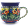 12 oz Stoneware Bubble Mug - Polmedia Polish Pottery H5434I