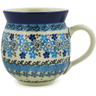 12 oz Stoneware Bubble Mug - Polmedia Polish Pottery H5633J