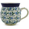 12 oz Stoneware Bubble Mug - Polmedia Polish Pottery H5634J