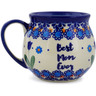12 oz Stoneware Bubble Mug - Polmedia Polish Pottery H6400K