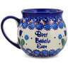 12 oz Stoneware Bubble Mug - Polmedia Polish Pottery H6402K