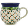 12 oz Stoneware Bubble Mug - Polmedia Polish Pottery H6652J