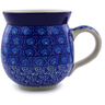 12 oz Stoneware Bubble Mug - Polmedia Polish Pottery H6738I