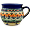 12 oz Stoneware Bubble Mug - Polmedia Polish Pottery H6838C