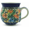 12 oz Stoneware Bubble Mug - Polmedia Polish Pottery H6889B