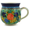 12 oz Stoneware Bubble Mug - Polmedia Polish Pottery H6962B