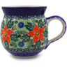 12 oz Stoneware Bubble Mug - Polmedia Polish Pottery H7094B