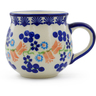 12 oz Stoneware Bubble Mug - Polmedia Polish Pottery H7196E