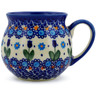 12 oz Stoneware Bubble Mug - Polmedia Polish Pottery H7218J