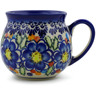 12 oz Stoneware Bubble Mug - Polmedia Polish Pottery H7222J