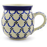 12 oz Stoneware Bubble Mug - Polmedia Polish Pottery H7284E