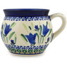 12 oz Stoneware Bubble Mug - Polmedia Polish Pottery H7299C