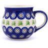 12 oz Stoneware Bubble Mug - Polmedia Polish Pottery H7774G