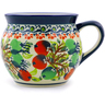 12 oz Stoneware Bubble Mug - Polmedia Polish Pottery H8169I