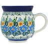 12 oz Stoneware Bubble Mug - Polmedia Polish Pottery H8198B