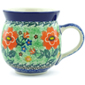 12 oz Stoneware Bubble Mug - Polmedia Polish Pottery H8254A
