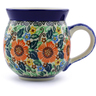 12 oz Stoneware Bubble Mug - Polmedia Polish Pottery H8259A