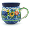 12 oz Stoneware Bubble Mug - Polmedia Polish Pottery H8276G
