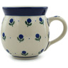 12 oz Stoneware Bubble Mug - Polmedia Polish Pottery H8337A