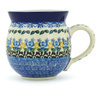 12 oz Stoneware Bubble Mug - Polmedia Polish Pottery H8428G