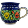 12 oz Stoneware Bubble Mug - Polmedia Polish Pottery H8688A