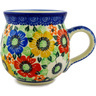 12 oz Stoneware Bubble Mug - Polmedia Polish Pottery H8705C