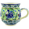 12 oz Stoneware Bubble Mug - Polmedia Polish Pottery H8711D