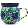 12 oz Stoneware Bubble Mug - Polmedia Polish Pottery H8712G