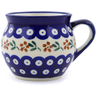 12 oz Stoneware Bubble Mug - Polmedia Polish Pottery H8864B