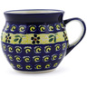 12 oz Stoneware Bubble Mug - Polmedia Polish Pottery H8865B