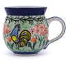 12 oz Stoneware Bubble Mug - Polmedia Polish Pottery H8954G