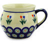 12 oz Stoneware Bubble Mug - Polmedia Polish Pottery H9147D