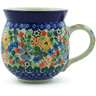 12 oz Stoneware Bubble Mug - Polmedia Polish Pottery H9243A