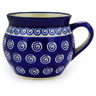 12 oz Stoneware Bubble Mug - Polmedia Polish Pottery H9305D